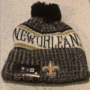 NFL New Orleans Saints Beanie Knit Hat